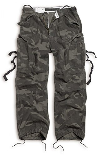 Surplus - Pantalon Homme Black Camo