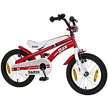 Bachtenkirch-Bicicletta da bambino, 16pollici daxie rosso/bianco