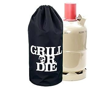 barbecue or die housse de protection pour bouteille de. Black Bedroom Furniture Sets. Home Design Ideas