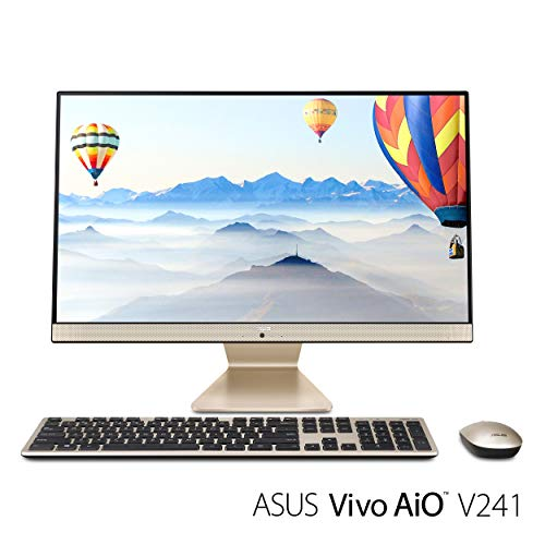 ASUS V272UA-DS501T Vivo AiO All-in-One Touchscreen Desktop, Intel Core i5 8250U, 8GB RAM, 1TB HDD, HD Webcam, 802.11ac, Tastatur und Maus (Windows Asus Desktop-computer 8)