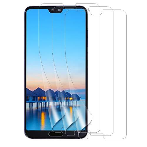 Bigmeda Pellicola Protettiva Huawei P20 PRO, [3-Pezzi] Pellicola Morbida Huawei P20 PRO Proteggi Schermo Screen Protector Film per Huawei P20 PRO [Alta Definizione][Anti-graffio] [Senza Bolle]