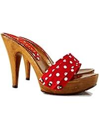 d4a6586c5c4d Amazon.co.uk  Stiletto - Clogs   Mules   Women s Shoes  Shoes   Bags