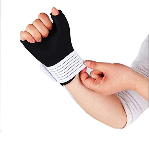 UGUAX Hand-Handgelenk-Handgelenk unterstützt Handgelenk-Handgelenk-Handgelenk für Arthritis, Karpaltunnel und Sehnenentzündung 1 Paar (Unterstützt Handgelenk Karpaltunnel)