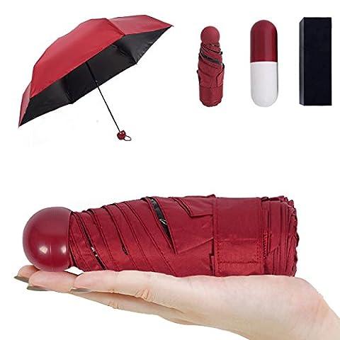 Mini parapluie CAMTOA ultra protecteur [Résistance UV 99% et 100%