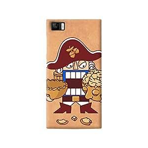The Fappy Store captain nutshell plastic back cover for Xiaomi mi3