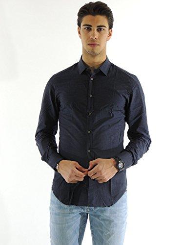 Camicia uomo Mauro Grifoni collo classico ZG161602 (41)