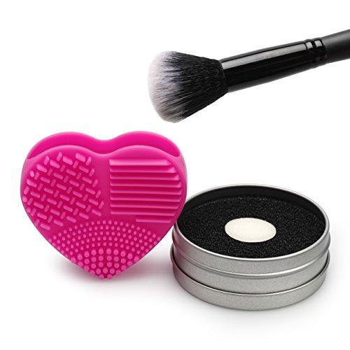 Lunata® Make-Up Silikon Pinselreiniger und Schwamm Reiniger, Pinsel Reinigung, Brush Cleaner, Reinigungsmatte
