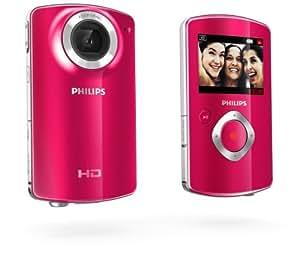 """Philips CAM100PK/00 Caméscope portatif 1.1MP CMOS HD Rouge caméscope numérique - caméscopes numériques (Caméscope portatif, CMOS, 25,4 / 4 mm (1 / 4""""), Carte mémoire, Auto, HD)"""