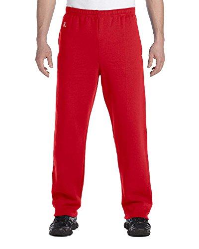 Dri-Power Open-Bottom Fleece Pocket Pant - TRUE RED - S Dri-Power® Open-Bottom