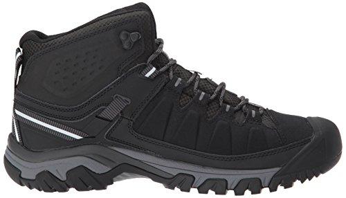 Keen Herren Targhee EXP Mid WP Trekking-& Wanderstiefel Schwarz (Black/steel Grey Black/steel Grey)