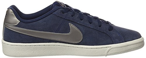 Nike Court Royale Suede, Chaussures de Gymnastique Homme Bleu (Obsidian/mtlc Pewter/light Bone)