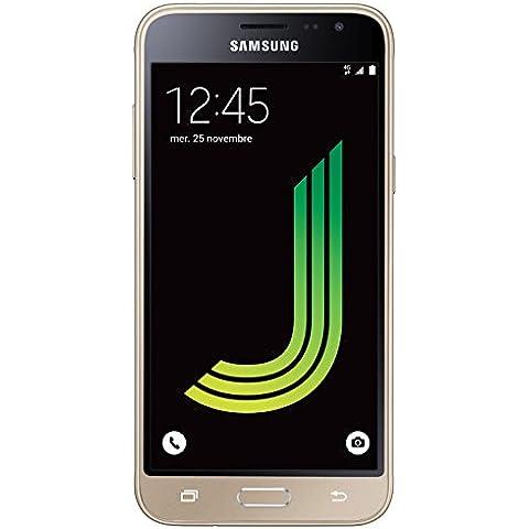 Samsung Galaxy J3 SM-J320F 8GB 4G - Smartphone (SIM doble, Android, MicroSIM, GSM, UMTS, WCDMA,