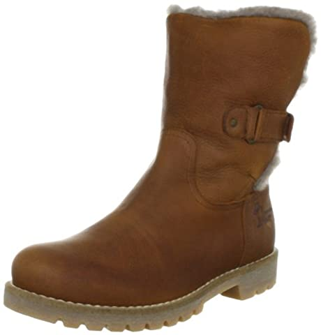 Panama Jack Felia Igloo Damen Warm gefüttert Biker Boots Halbschaft Stiefel & Stiefeletten, Braun (Bark B4), 39 EU (6 Damen UK)