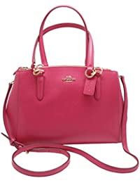 Coach Crossgrain Leather Small Christie Carryall Bag