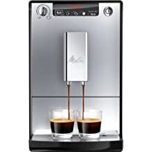 Melitta E 950-103 Kaffeevollautomat Caffeo Solo mit Vorbrühfunktion, silber/schwarz