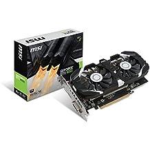MSI NVIDIA GeForce GTX 1050 2 GB 2GT OC GDDR5 7000 MHz 128 Bit Memory