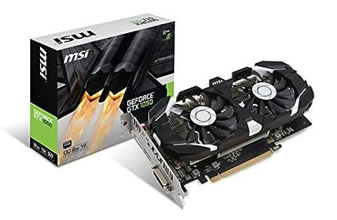 MSI GTX 1050 2GT OC Carte graphique Nvidia GeForce GTX1050