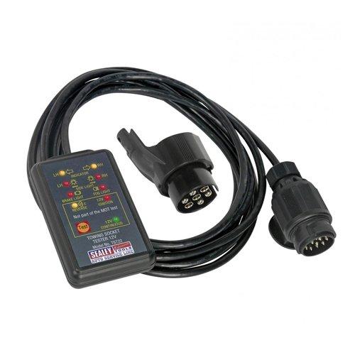 sealey-tst22-13-pin-towing-socket-tester-12-v