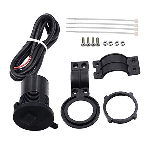 Neue USB Motorrad Handy Netzteil Ladegerät Wasserdichte Steckdose 12V -