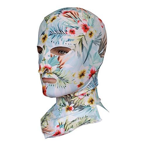 Haodasi Schwimmen Kopfkappe Facekini Männlich Weiblich UV Protection Maske Waterproof Face Bikini