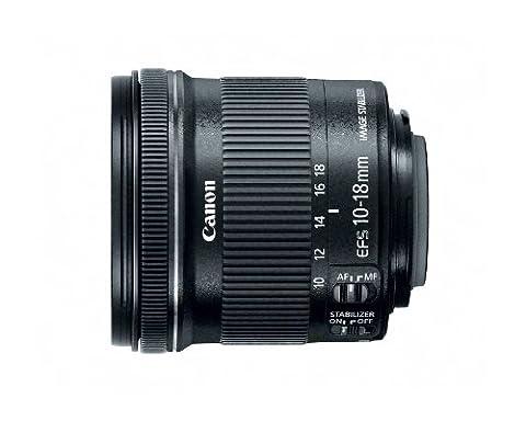 Canon 10-18 mm / F 4.5-5.6 EF-S IS STM 10 mm-Objektiv ( Canon EF / EF-S-Anschluss,Autofocus,Bildstabilisator )