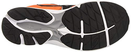 Mizuno Wave Rider Jnr, Scarpe da Corsa Unisex – Bambini Multicolore (Clownfish/Black/Silver)