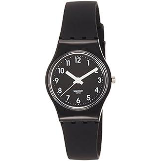 Swatch Reloj Digital de Cuarzo para Mujer con Correa de Silicona – LB170E
