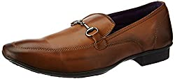 Knotty Derby Mens Arthur Saddle Loafer Tan Formal Shoes -9 UK/India (43 EU)