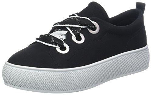 ESPRIT Damen  LU Sneaker, Schwarz (Black 001), 38 EU