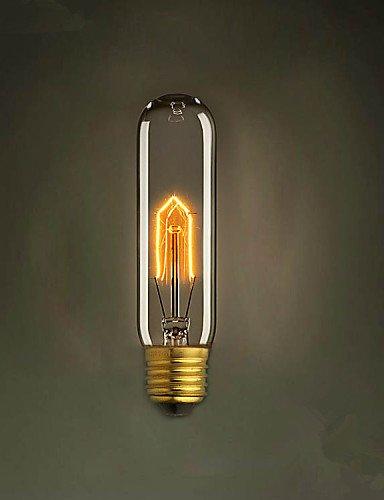 jliner-e2725W T10Test Tube Edison Retro Dekoratives Licht Glühbirne, warm white-220–240V