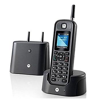 Telefono Inalambrico Dect Motorloa O201 Negro Ip67 Largo Alcance 0
