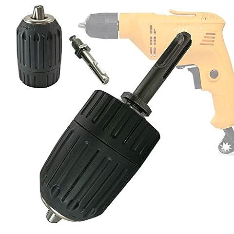 Foret Perforateur - JTENG 13mm Mandrin sans clé Auto-serrant Rapide