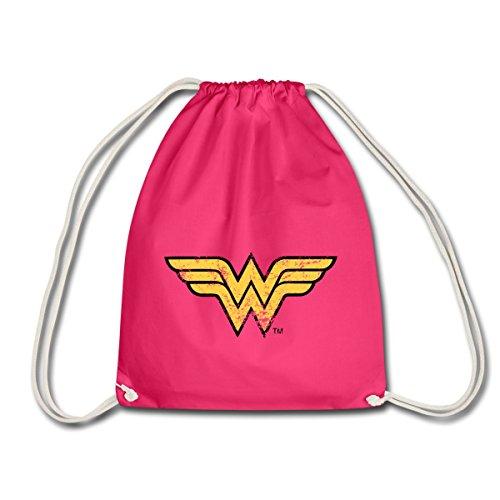 Spreadshirt DC Comics Ligue De Justice D'Amérique Wonder Woman Logo Sac de sport léger