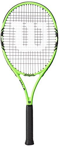 Wilson Damen/Herren-Tennisschläger, All Courter, Freizeitspieler, Monfils 100, Größe 3, grün/schwarz, - Tennisschläger Männer
