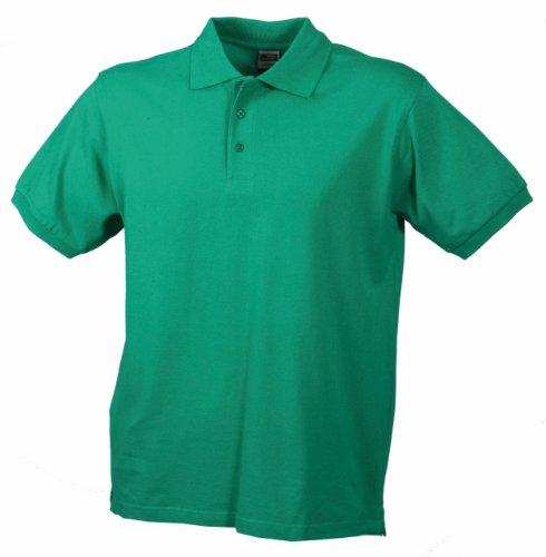 Klassisches Polohemd in 25 Farben zur Wahl Herren irishgreen