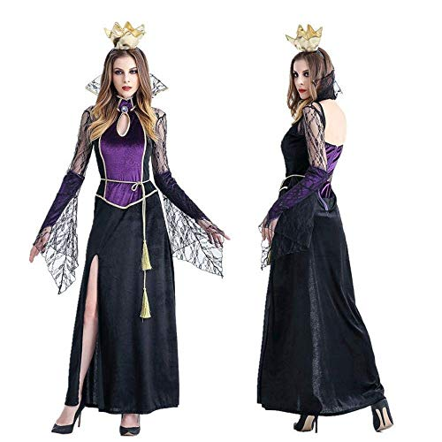 Bride Dead Kostüm Corpse - Fashion-Cos1 Halloween Ghost Bride Kostüm Horror Queen Gothic Corpse Bride Cosplay Kleid Vampirin Scary Day of The Dead (Size : XL)