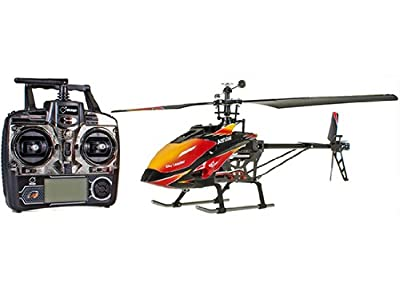 Efaso 4 Channel Single Blade RC Helicopter 2.4 GHz WL V913 Single Blade Gyro. Ready to Fly!