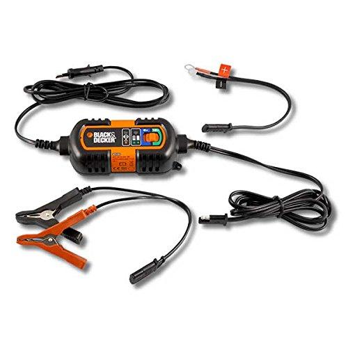 BLACK+DECKER BDV090 Carica Batteria e Mantenitore di Carica, 6 V e 12 V