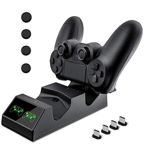 Controller PS4 per caricabatterie stazione di ricarica per stazione ricarica USB KNONEW PS4 per Sony PlayStation 4 / PS4 / PS4 Pro / PS4 Slim 4