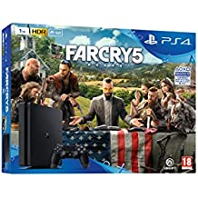Playstation 4 (PS4) - Consola de 1 TB + Far Cry 5