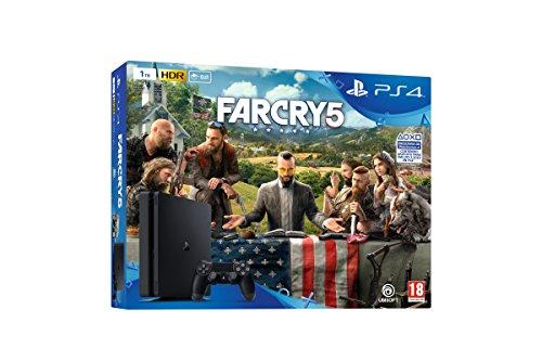 Playstation 4 (PS4) - Consola de 1 TB + Far Cry 5