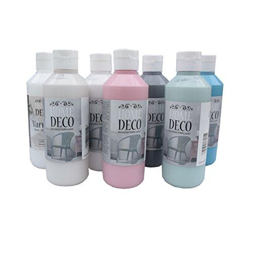 Vintage Farbe 250 ml für Holz und Möbel - pastell Farben im shabby chic Stil (sugar)