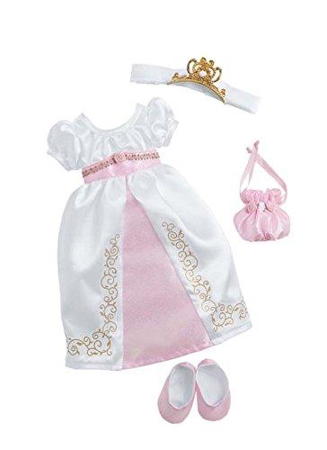 Preisvergleich Produktbild Zapf Creation 908952 - Nelli dreams Bekleidung Set, Prinzessin, weiß