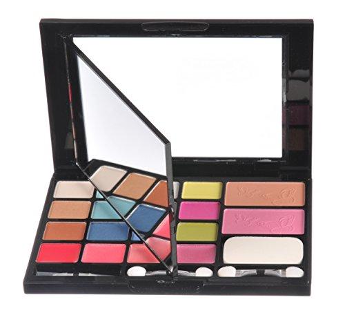viaje-de-maquillaje-cosmeticos-paleta-set-photo-stand-marco-de-fotos-22-piezas-pequenas