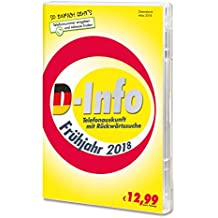D-Info mit Rückwärtssuche Frühjahr 2018 Standard 1 unbegrenzt PC Disc Disc