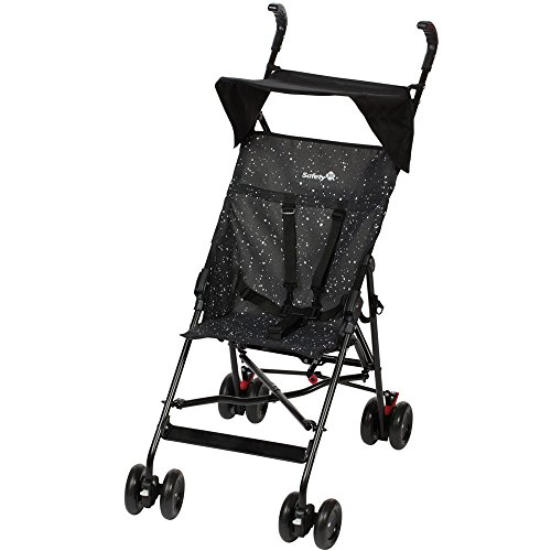 Safety 1st Poussette Canne Fixe Peps + Canopy Splatter Black