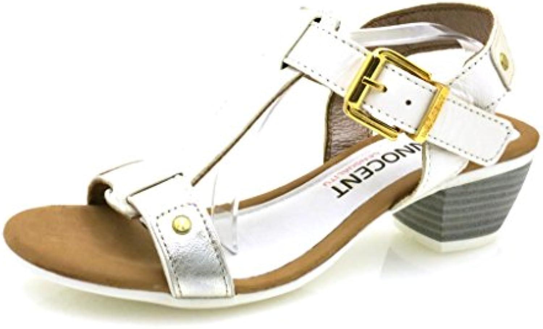 2e5c8780e19aa5 innocent beurre doux cuir cuir chaussures sandales en en en cuir 185-ss01  sandales été b01bdvedra parent | Moins Coûteux 69b3e2