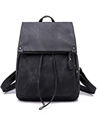 Women Backpack Waterproof Anti-theft Lightweight PU Fashion Leather Nylon School Shoulder Bag Travel Cute Backpack Girls Ladies