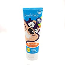 Brush-Baby Children's Tutti Frutti Toothpaste 3-6 years (50ml) PACK OF 3 TUBES
