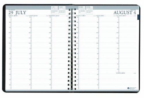 House of Doolittle Professional Academic Weekly Planner, 12 Monate, August 2014-Juli 2015, 8,5 x 11 Zoll, ein vertikales wöchentliches Format, recycelt in den USA hergestellt (HOD257202) (Planer 2015 Wöchentlich)